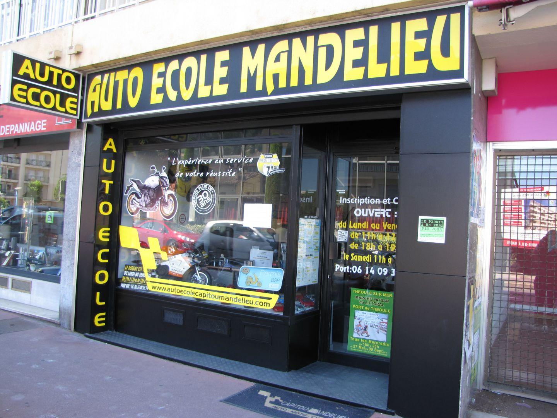AUTO ECOLE MANDELIEU
